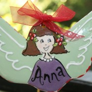 Flat Angel Ornament