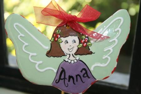 Flat Angel Ornament