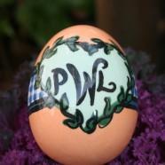 Monogrammed Egg