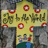 Joy to the World Cross