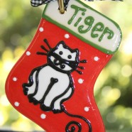 Cat Stocking Ornament