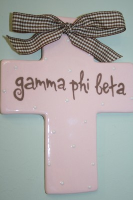 Sorority Wall Cross