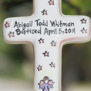 Large Angel Baptism Cross
