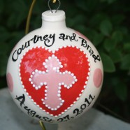 Love and Blessings Wedding Ornament