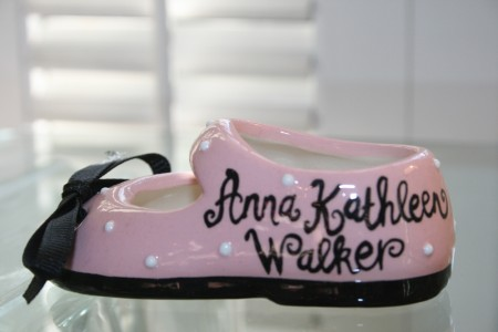 Mary Jane Style Baby Shoe