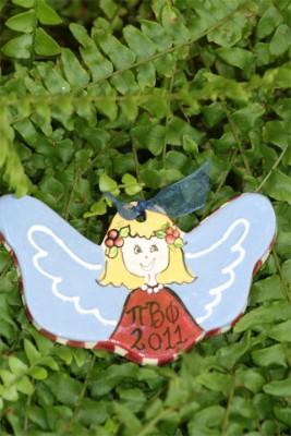 Sorority Angel Ornament