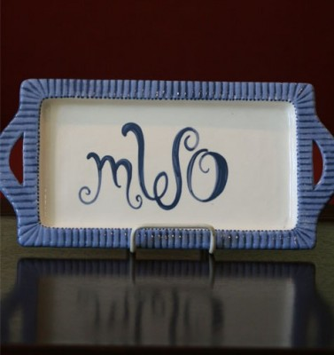 Monogramme​d Tray