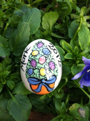 Easter Topiary Egg