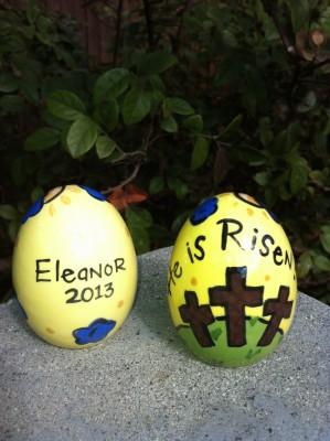 He is Risen Egg